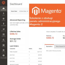 Obsługa panelu administracyjnego Magento 2 - szkolenie online