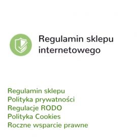 Regulamin sklepu internetowego + RODO
